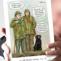 Old 'Brushers' Musings Labrador Card