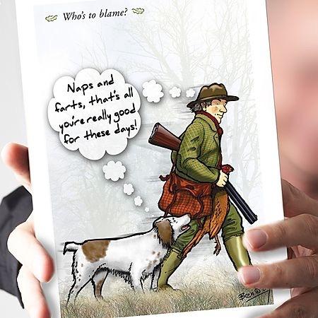 Who's to blame? Spaniel Card