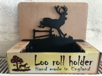 Jumping Deer Loo Roll Holder