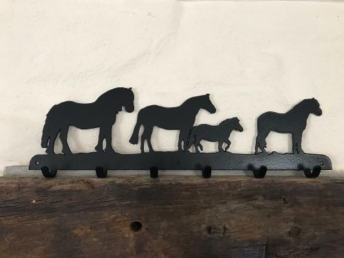 Ponies Coat Rack