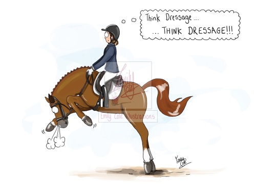 Think Dressage Card