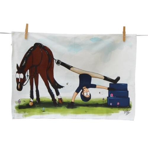 Mounting Block Tea Towel