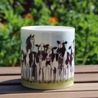 Cow Pony Bone China Mug