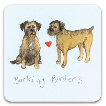 Barking Borders Coaster