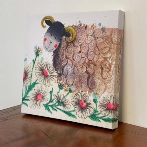 Sheep Art Canvas