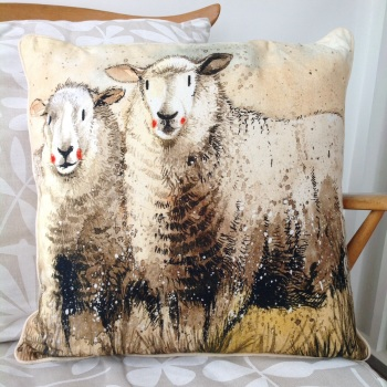 Sheep Companions Cushion