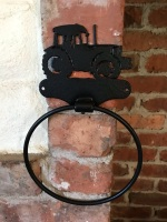 Big Green Tractor Towel Ring