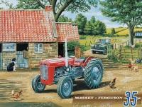 Massey Ferguson 35 Tractor Metal Sign