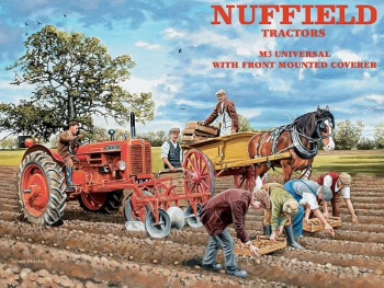 Nuffield Metal Sign