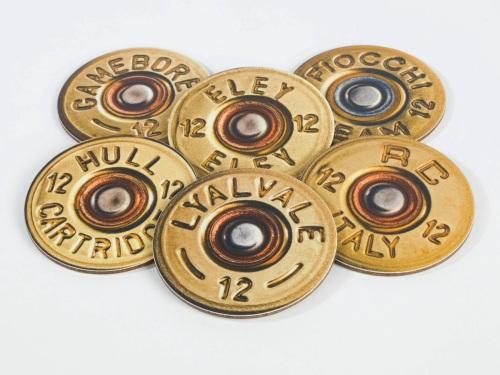 Shotgun Cartridges Melamine Coasters (pack of 6)