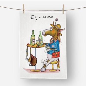 Eq-wine Tea Towel