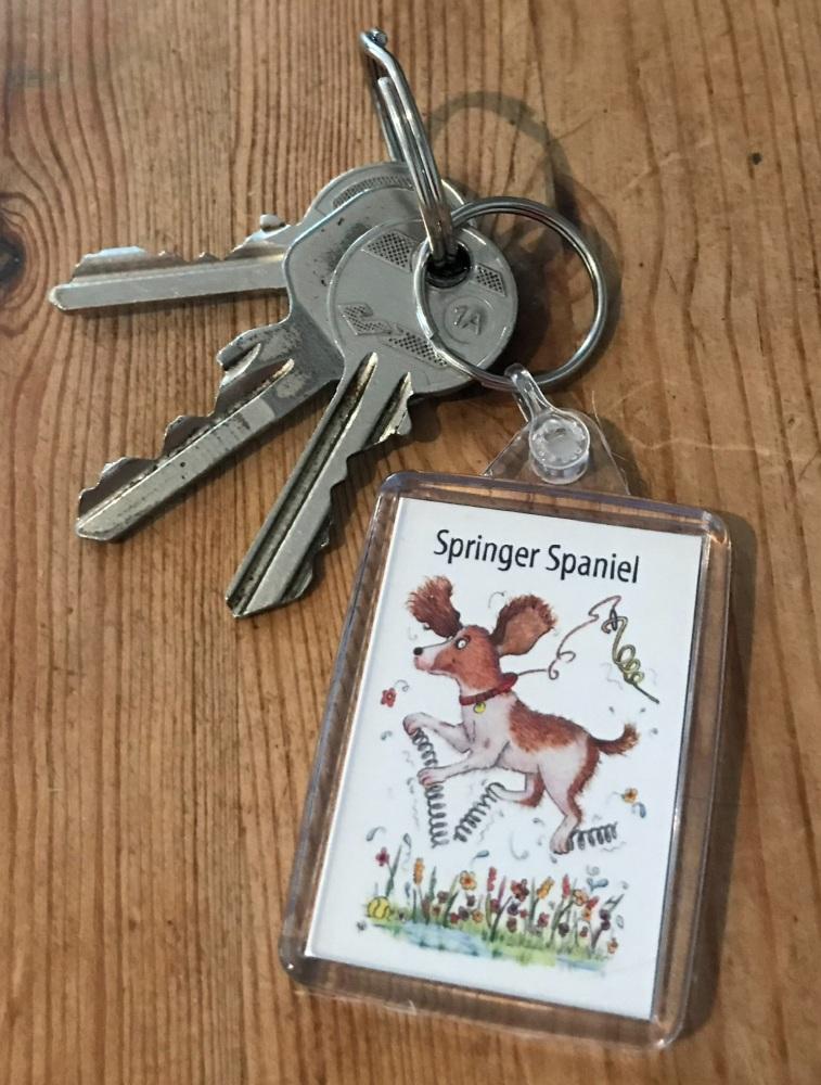 Springer Spaniel Key Ring