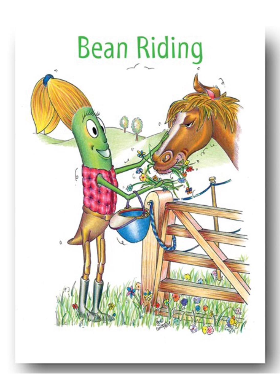 Bean Riding Card