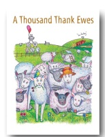 Thousands Ewes Thank you Card