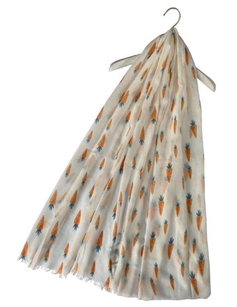 Carrots Frayed Edge Scarf