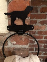 Spaniel (Full Tail) Towel Ring
