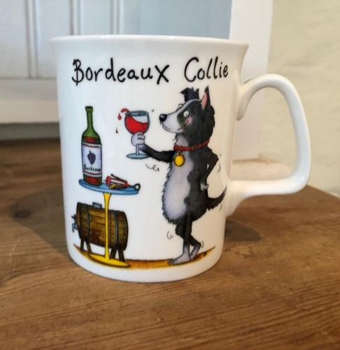 Bordeaux Collie Mug