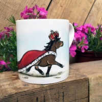 Yard Royalty Bone China Mug