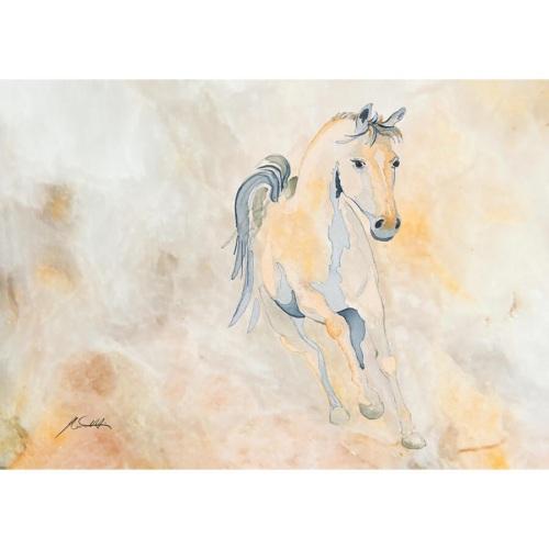 Golden Equine Print