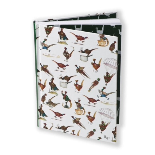 Pheasants by Bryn Parry A5 Hardbacked Notebook