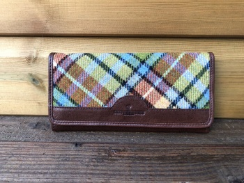 Eden Tweed and Leather Purse