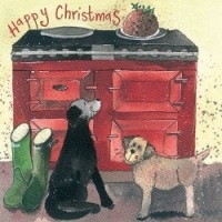 Hot Dogs Christmas Card Pack