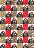 Christmas Paws Gift Wrap