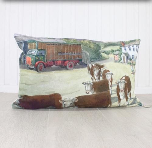 Returning Home Cushion
