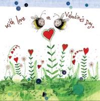 Bee My Valentine Card