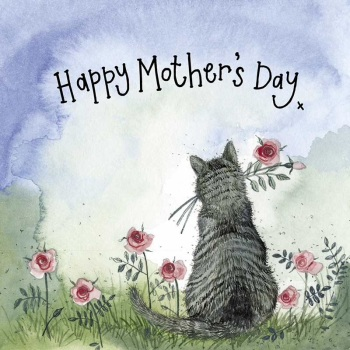 Sunshine Cat Mother's Day Card