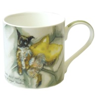 Bone China Mug Border Terrier- Milk No Sugar