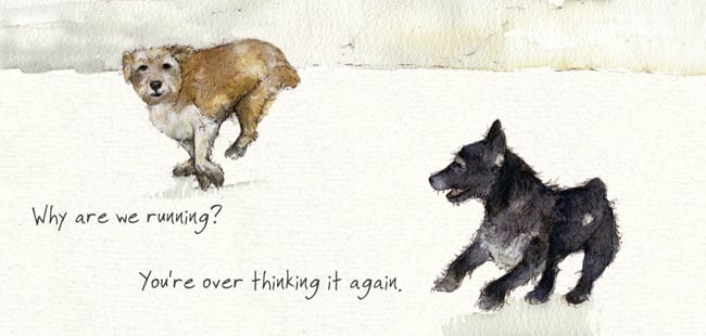 'Over Thinking' Card