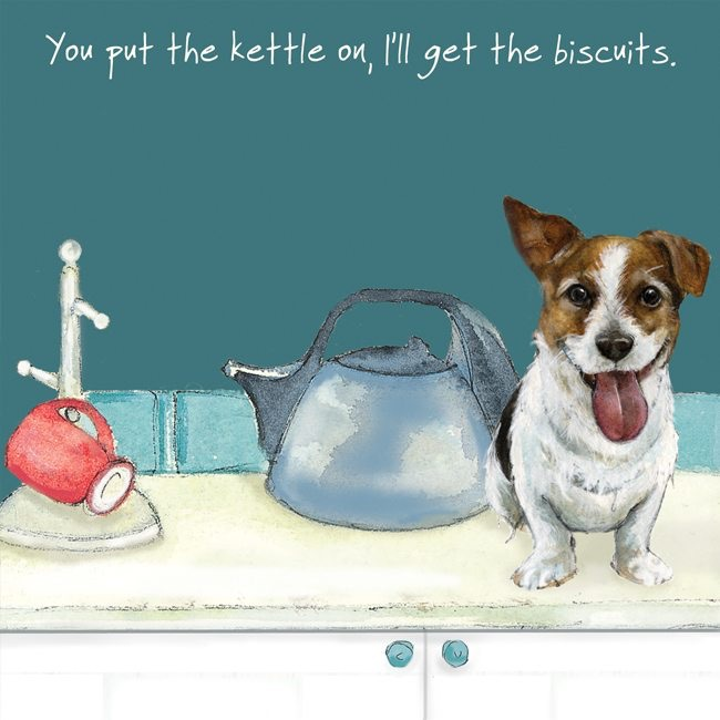 Put the Kettle On Card
