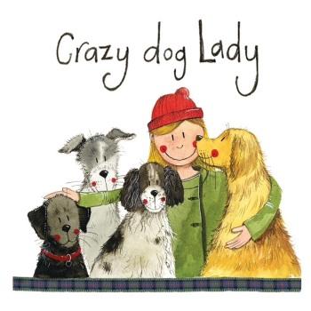 Crazy Dog Lady Coaster