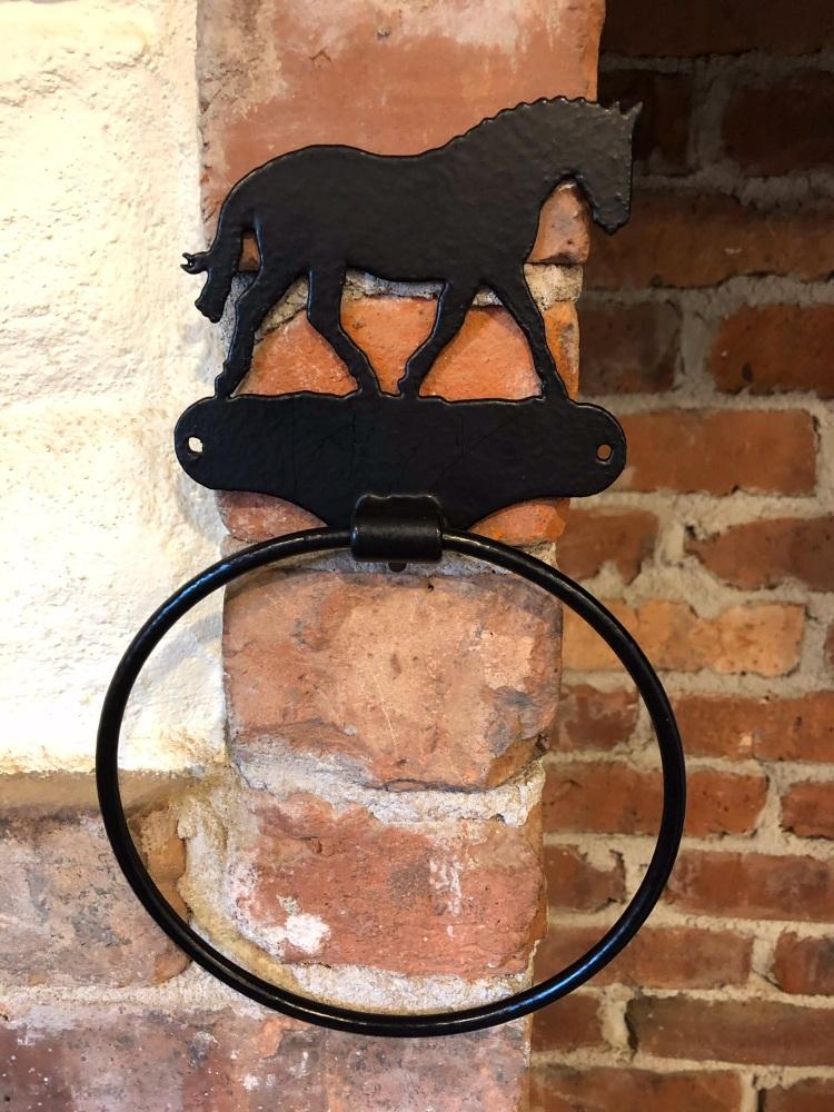 Horse Towel Ring