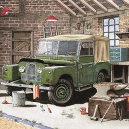 My Land Rover is in need of a little TLC Card