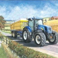New Holland T6090 Card