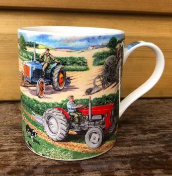 Classic Tractor Trio Mug