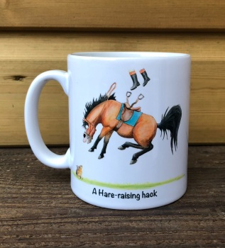 A Hare-raising hack Mug