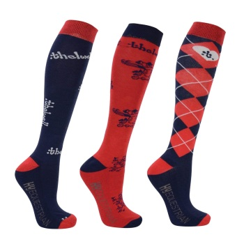 Pack of Three Pairs of Thelwell Socks
