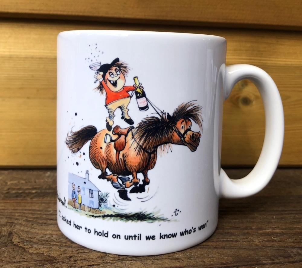 Thelwell Celebration Mug