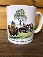 Thelwell Judge's Decision Mug