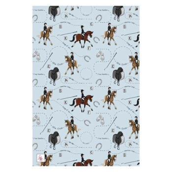 Dressage Pattern Tea Towel