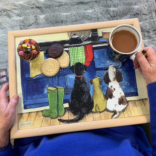 Country Dogs Lap Tray