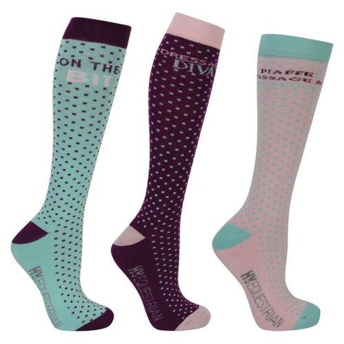 Pack of Three Dressage Long Socks