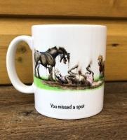 You missed a spot Mug