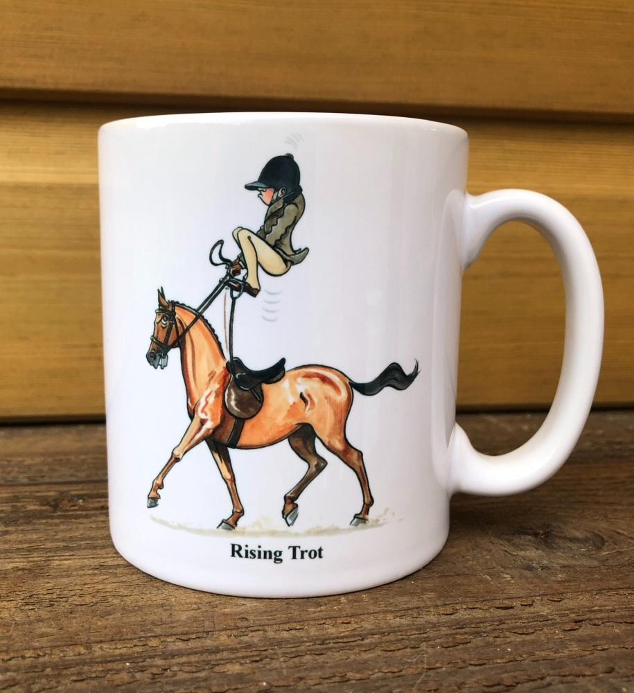 Rising Trot Mug