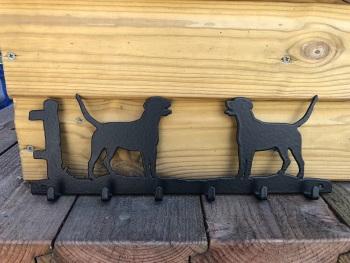 Foxhound 6 Hook Key Rack
