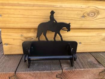 Western Riding  Loo Roll Holder