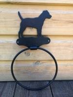 Patterdale Terrier Towel Ring